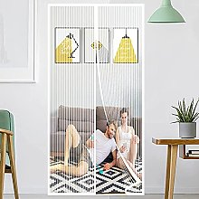 Magnetic Fly Screen Mesh Door, Insect Protection