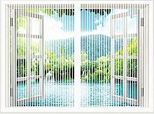 Magnetic Fly Screen Window, Magnetic Window