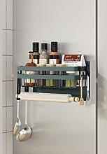Magnetic Fridge Spice Rack Organiser Hanging Rack