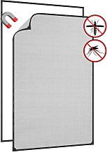 Magnetic Insect Screen for Windows Anthracite