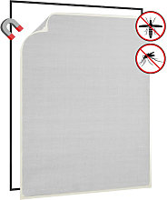Magnetic Insect Screen for Windows White 100x120