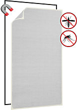 Magnetic Insect Screen for Windows White 80x140 cm