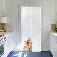 Magnetic Insulated Door Curtain 90 x 210cm,