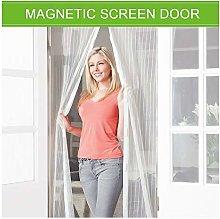 Magnetic Screen Door 140x240cm, Mesh Fly Curtain,