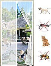 Magnetic Screen Door Curtain, for Anti Mosquito or