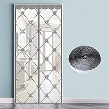 Magnetic Screen Door,Heavy Duty Mesh Curtain with
