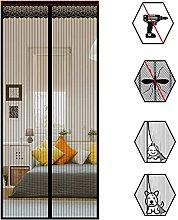 Magnetic Screen Door - Mosquito Mesh Curtain-New