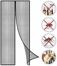 Magnetic Screen Door, Super Fine Mesh Fly Curtain,
