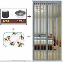 Magnetic Screen Door, Super Fine Mesh Fly Curtain