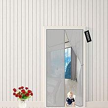Magnetic Screen Door,Warm Winter, Cool Summer,