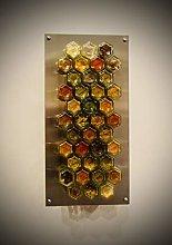 Magnetic Spice Jar Storage Solution - 38 Hexagonal