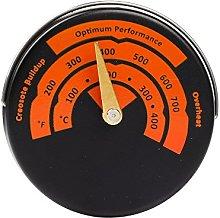 Magnetic Stove Flue Thermometer Temperature Gauge