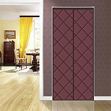 Magnetic Thermal Door Curtain, With Heavy Duty Air