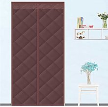 Magnetic Thermal Insulated Door Curtain, Heavy