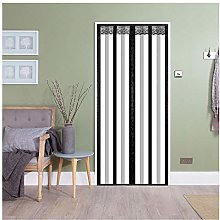 Magnetic Thermal Insulated Door Curtain, Windproof