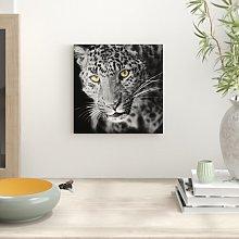 Magnificent Graceful Leopard Art Print on Canvas
