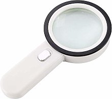 Magnifying Glass Handheld 10x Lighting Magnifier