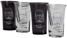 Magnum Brands - Shot Glasses Set Of 4 Star Wars