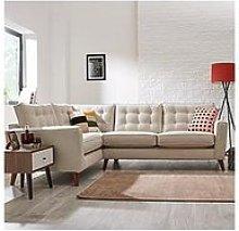 Magnus Fabric Left Hand Corner Sofa