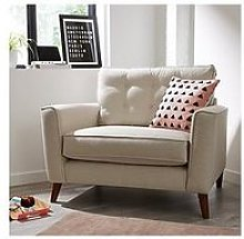 Magnus Fabric Snuggle Chair