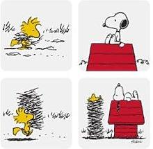 Magpie - Snoopy Coaster Set