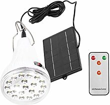 MAGT Camping Solar Bulb, Solar Panel LED Lamp Bulb