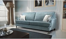 Maguire 3 Seater Sofa Canora Grey Upholstery