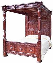 Mahogany Bed Frame Astoria Grand