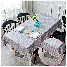 MAI&BAO Tablecloth Oilcloth PVC Modern Plaid
