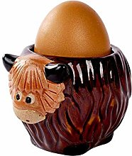 Maia Gifts Highland Cow Ceramic Egg Cup