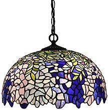MAIDEHAO 16 Inch Tiffany Style Hanging Lamp