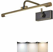 MAIDEHAO Bathroom Cabinet Light, LED Mirror Front