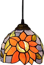 MAIDEHAO Mini Pendant Lamp, Tiffany Style