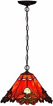 MAIDEHAO Pendant Light/Chandelier, Tiffany Style