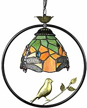 MAIDEHAO Tiffany Style Pendant Light, Stained
