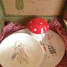Maileg - Bunny Green Children's Dinner Set -