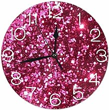 Mailine Round Wall Clock Desk Clock Fashionable