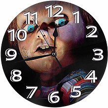 Mailine Wall Clock Cult of Chucky Round Clock