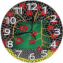 Mailine Wall Clock Yayoi Kusama Art Round Clock