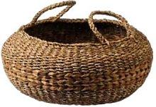 Maison Bengal - Large Circular Woven Hogla Basket