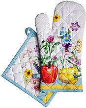 Maison d' Hermine Giverny 100% Cotton Set of