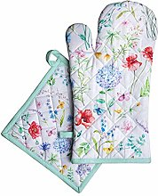 Maison d' Hermine Just Florals 100% Cotton Set