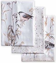 Maison d' Hermine Meadow Florals-Brown 100%