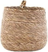 Maison Nomade - 18 × 18 × 16cm Natural Seagrass