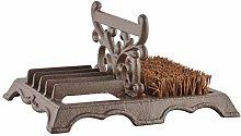MAISONICA Decorative Boot Brush & Scraper Cast