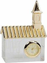 Maisonica Miniature Glass & Gold Metal Church Desk