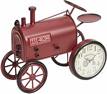 Maisonica Vintage Style Red Metal Tractor Mantel