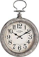MAISONICA Wall Clock Gray MDF/metal Round