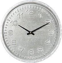 MAISONICA Wall Clock Gray MDF/paper Round