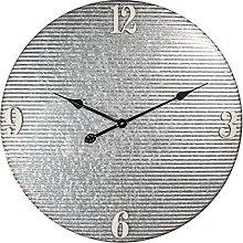 MAISONICA Wall Clock Gray Metal Round